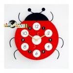 Christmas-Gift-Free-Shipping-Ladybug-shaped-Clock-Creative-Unique-Fashion-Modern-New-Year-Birthday-Gift